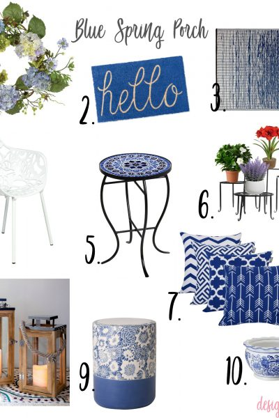 Fab Finds Friday: Blue Spring Porch